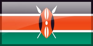 Flag of Republic of Kenya