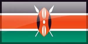 Flagge der Republik Kenia