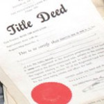 Title Deed Urkunde